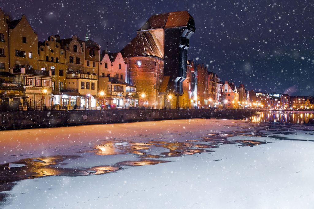 Gdańsk zimą czyli niesamowite widoki