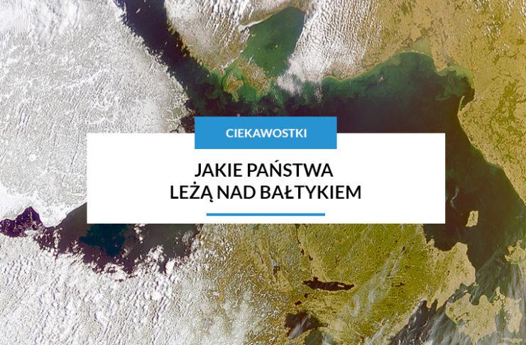 Jakie państwa leżą nad morzem bałtyckim