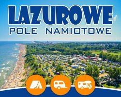Pole Namiotowe Camping nad morzem LAZUROWE