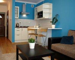 Noclegi - Apartament BLUE w Darłowie