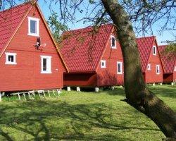 Domki w Gąskach, camping przy plaży
