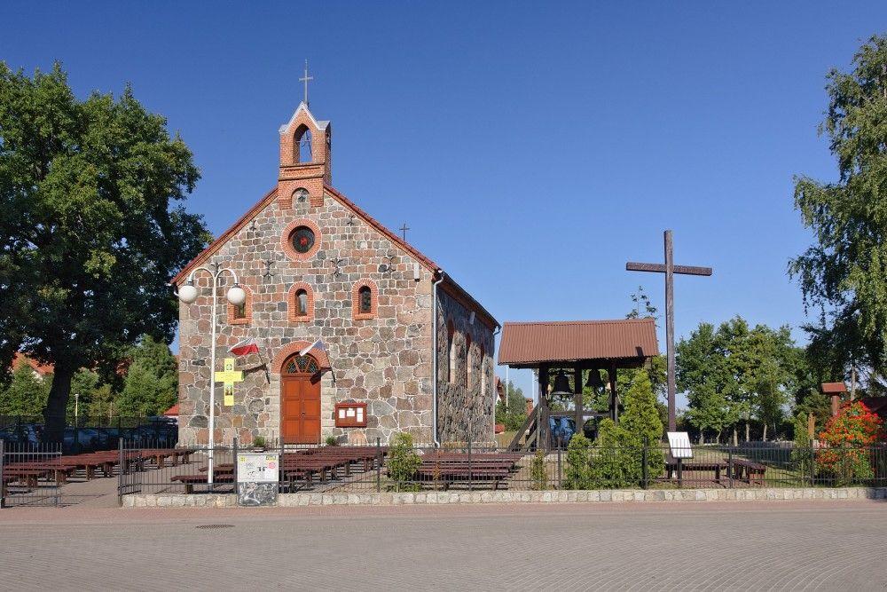Kościół w stylu neoromańskim