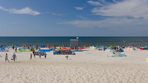 Plaża w Rowach