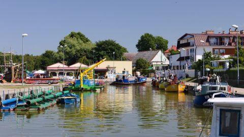 Port rybacki w Rowach