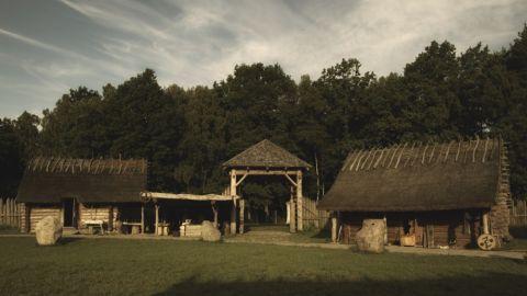 Osada średniowieczna w Sławutowie