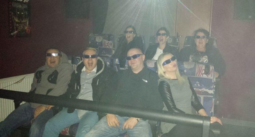Kino Mobilne Cinema 7D w Ustroniu Morskim