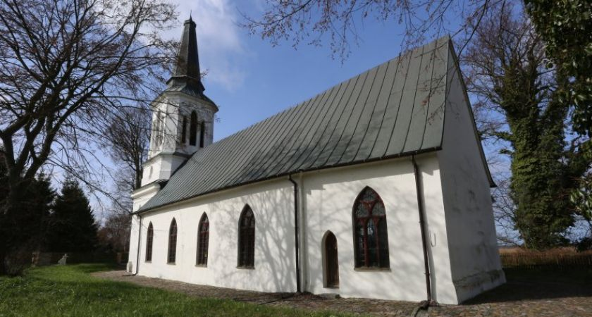 Zabytkowy kościół Gotycki w Świnoujściu