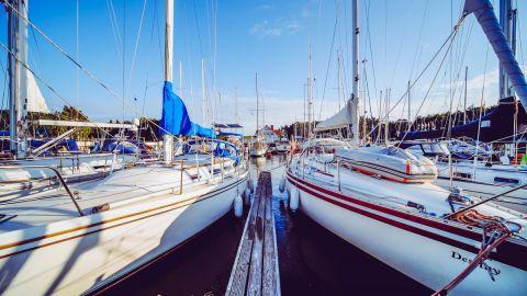 Port Jachtowy w Łebie