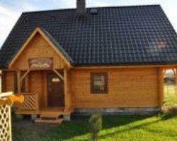"""Domek """"Wooden-House"""" w Kołczewie"""