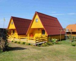 Domki wczasowe - wyspa Wolin