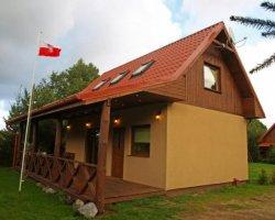 Drewniane domki letniskowe w Kopalinie