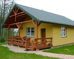 Komfortowy domek letniskowy - murowany