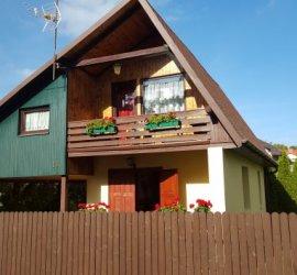 Zielony domek w Poddąbiu