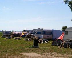 Camping Rogowo nad j. Resko, 200m od morza