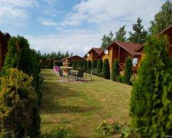 Domki drewniane w Rusinowie