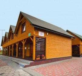Bajkowe domki w Sarbinowie