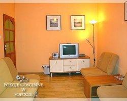 Pokoje i mieszkania w centrum Sopotu