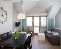 Dwupoziomowy apartament w Świnoujściu