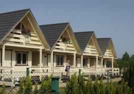Domki letniskowe - drewniane