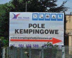Hel-Tour - pole kempingowe, camping, pokoje gościnne